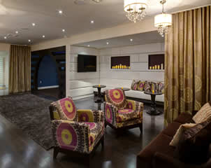 Interior Designer NYC Entertainment Space